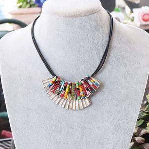 Chicos Southwestern Beaded Necklace